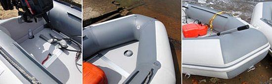 слани для лодки баджер